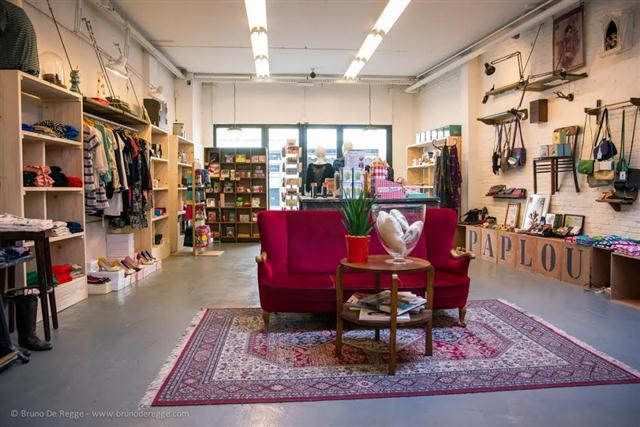 Paplou in hasselt retro vintage winkel for Interieur winkel leuven
