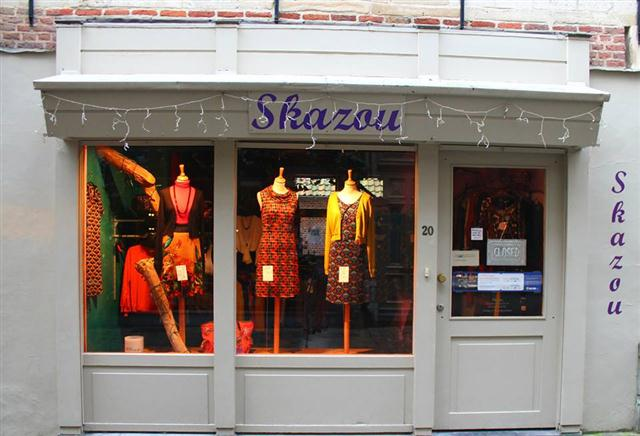 Skazou in Gent - retro & vintage winkel